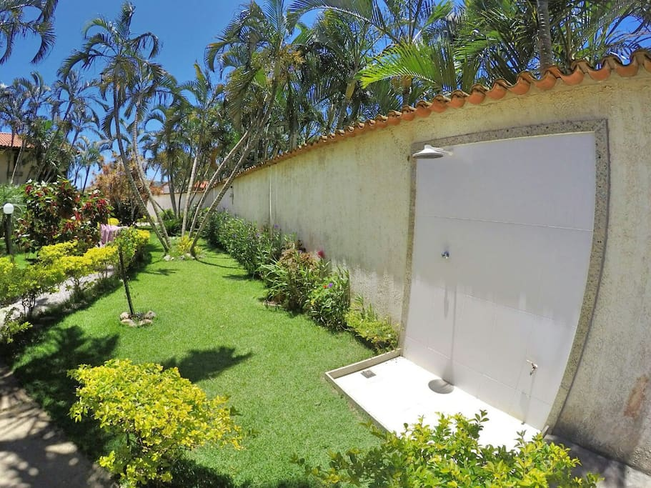 Área externa - Condomínio