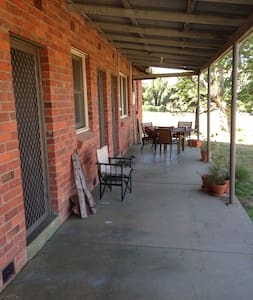 Shearing Quarters on idyllic beef cattle farm - Bowna