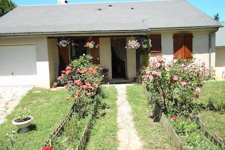 2 chambres dans villa proche Mende - Barjac