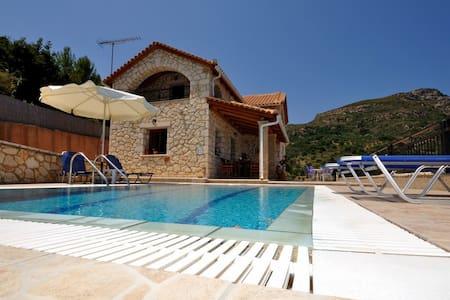 Socrates Three Bedroom Villa with Sea View - Vasilikos