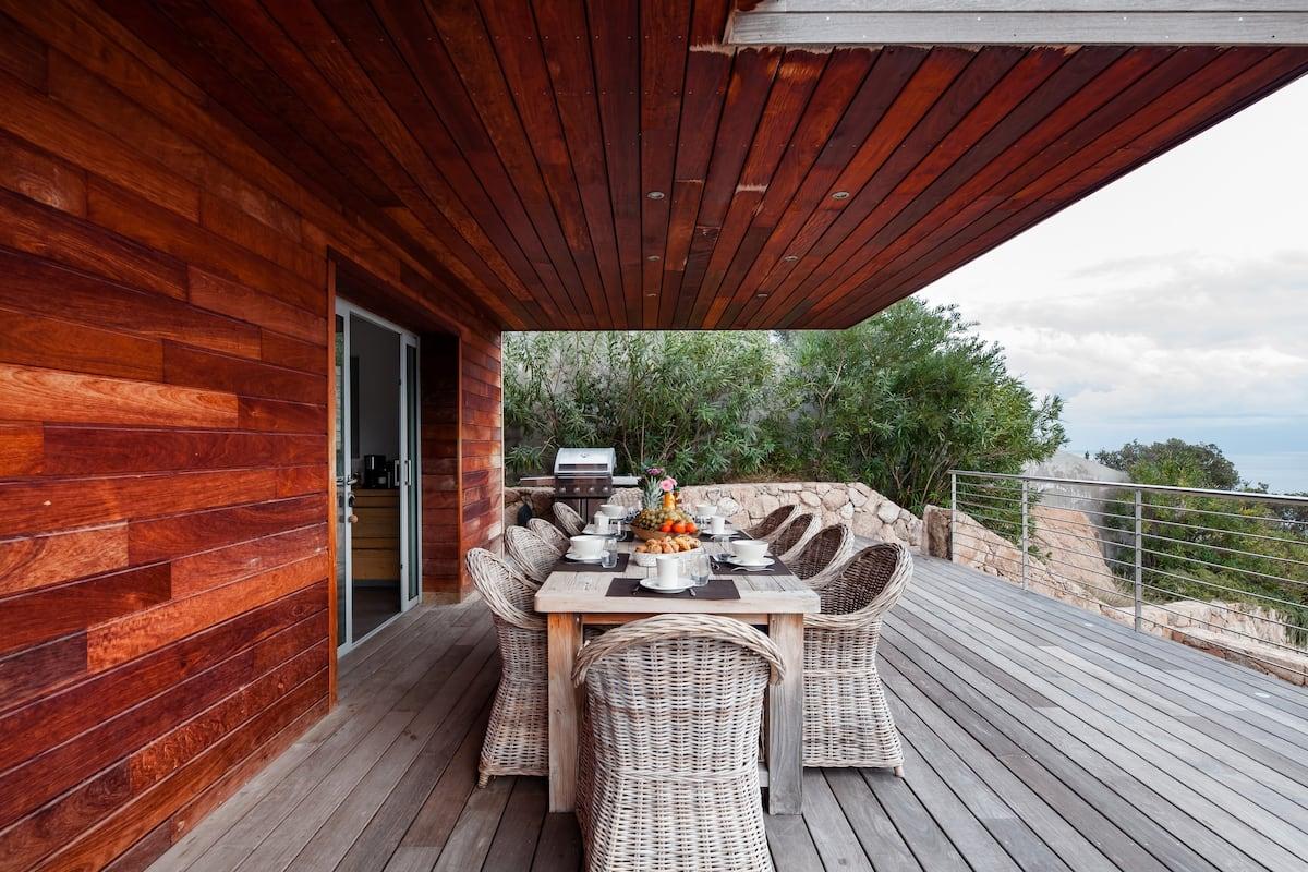 Rustic Minimalist Architecture Villa with Pool