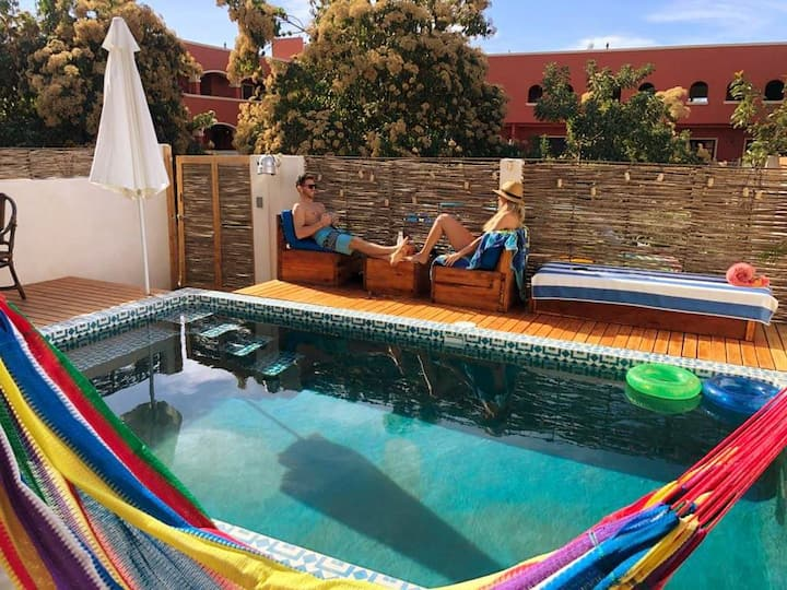 6 room house w/pool in downtown - Todos Santos