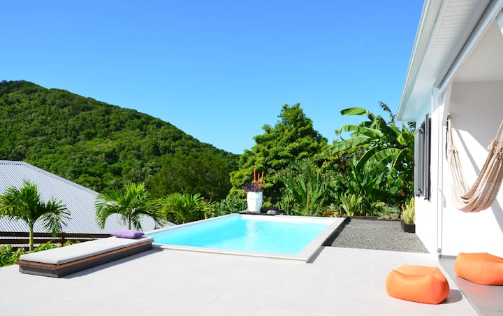 COCO CANNELLE Villa 3 Bdrm, Private Pool, Deshaies