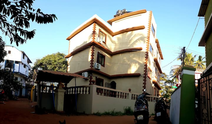 1 bedroom sulcar homes at Calangute beach