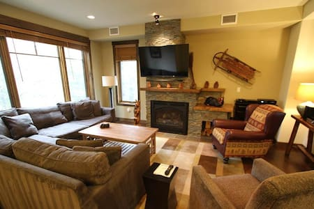 Wood Winds - 4BR Townhome + Private Hot Tub #1323 - Mammoth - Autre