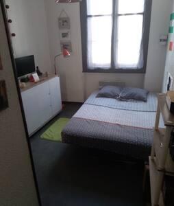 Chambre privée dans appartement centre ville