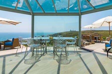 Stunning beach home with panoramic ocean views