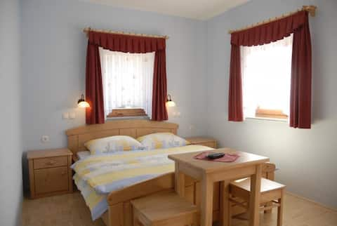 Room with a mountain view in Logarska Valley