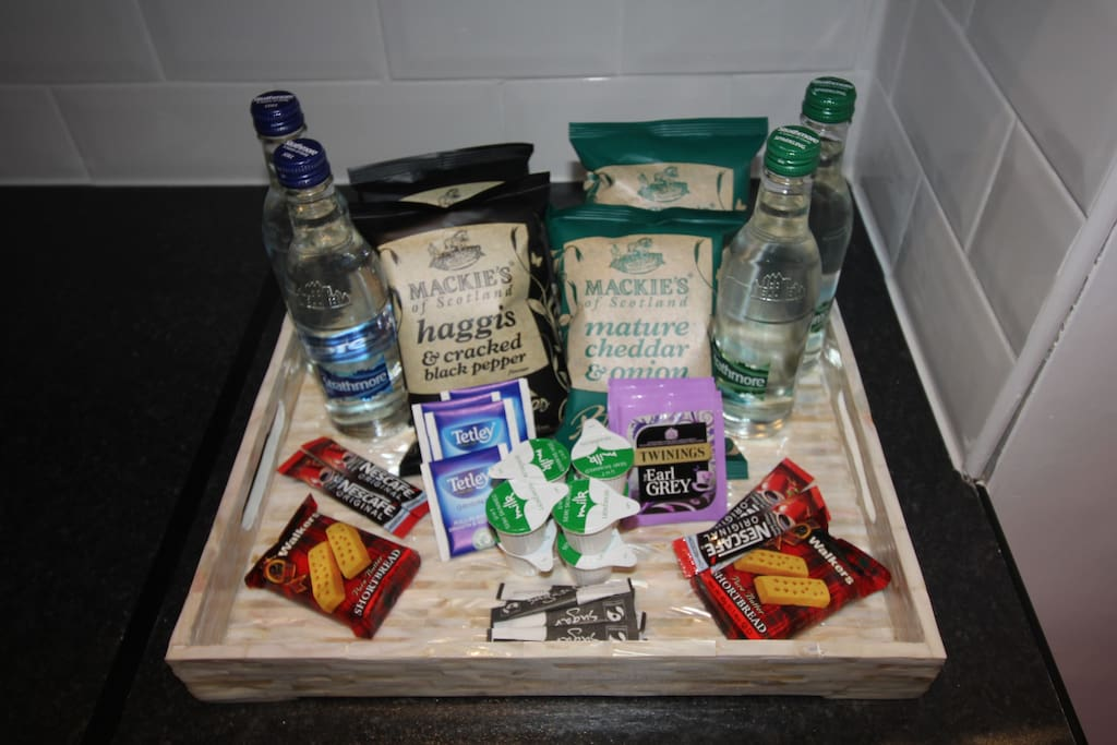 YOUR COMPLEMENTARY WELCOME PACK!!!!