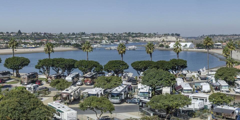 Half-Million-Dollar RV Experience in Newport Beach