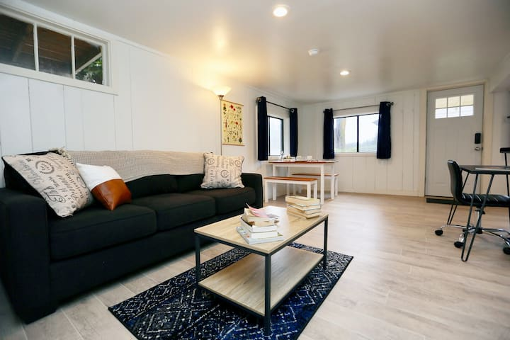 Spacious 1 BR Suite with Everything in Shoreline!