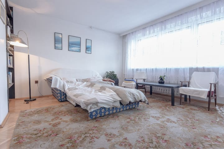 Double bedroom with balcony - Gdynia - House