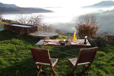 Chambre nature entre vignoble et montagne