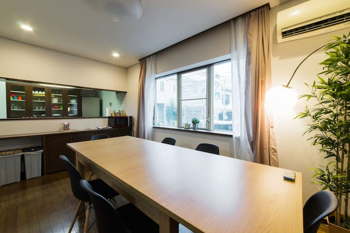 4 Rooms / Shinjuku 6mins / Max 13 People/ Koenji - Suginami-ku - House