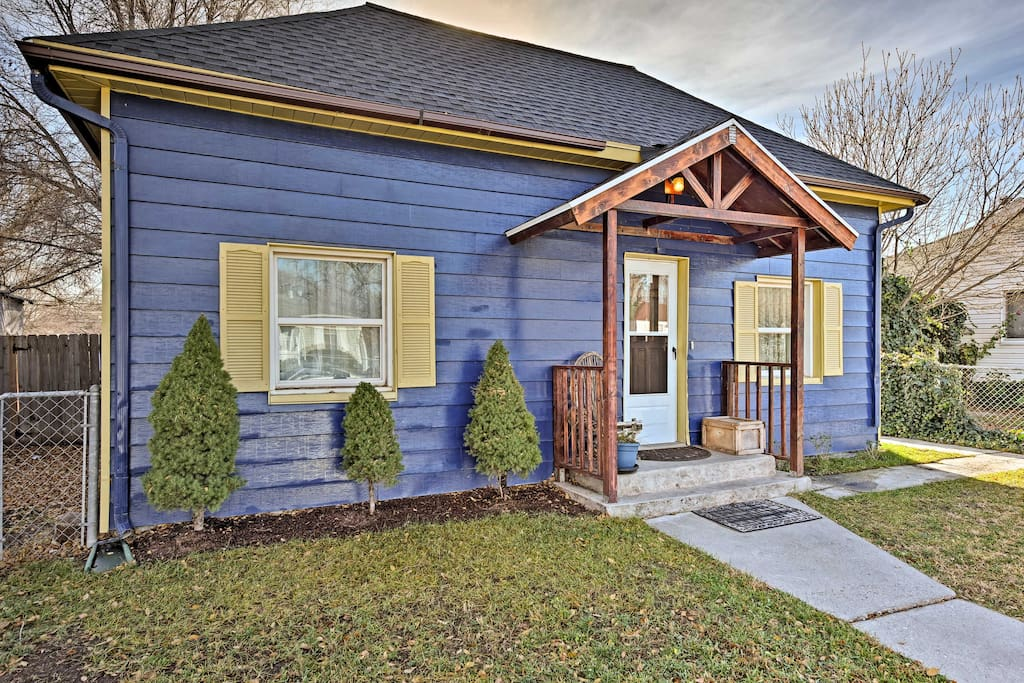This charming bungalow is in the heart of Salt Lake City.