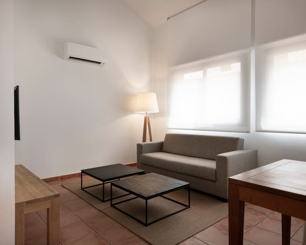 Terrace Apartament, two bedrooms & AC