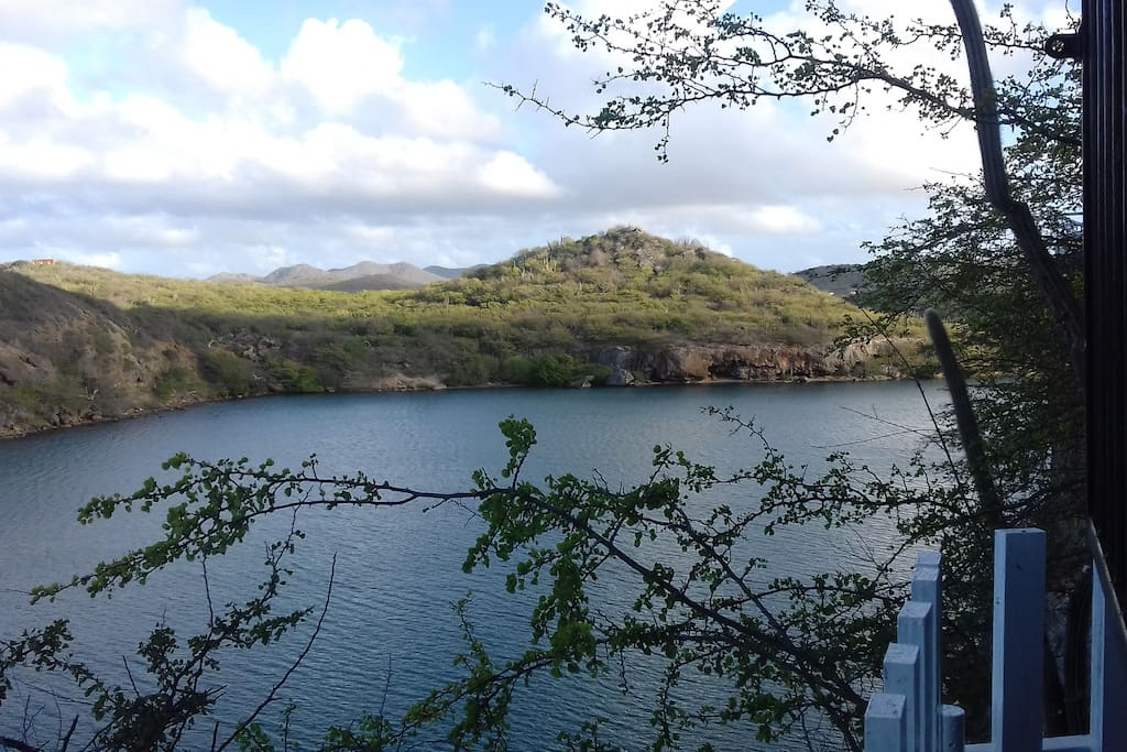A beautiful view of  the inland waters of Sta Martha