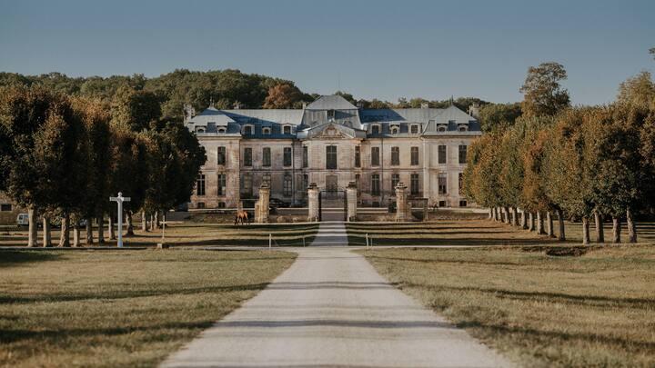 Location chambre double - Commun château de Vaux