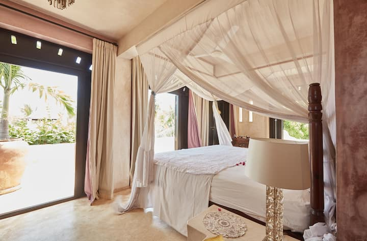 The hideaway home in Shela village, Lamu