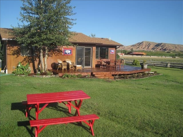 Private Ranch-Yellowstone, Grand Teton Natl. Park.