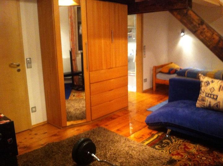 Helles, großes Zimmer in Winningen mit Sauna im EG