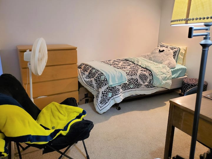 Private Room in Apartment Minutes from U of M Diag