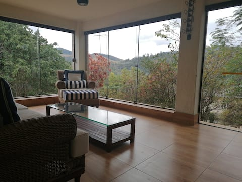 3 Bedroom House with views in Centro Miguel Pereira