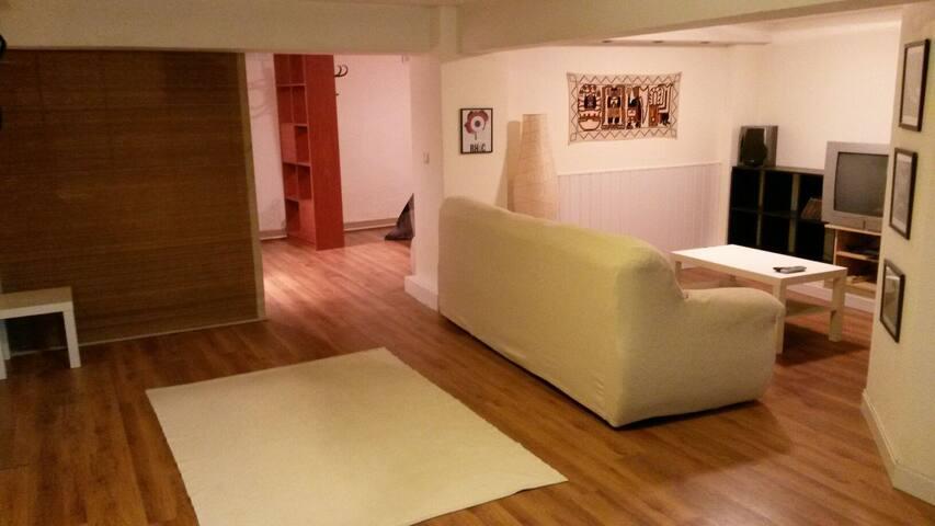 Loft sotano, parte vieja hondarribi - Hondarribia - Loteng Studio