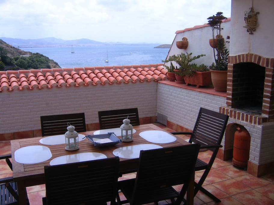 Fully equipped Terrace