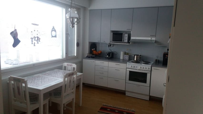 14m2Pvt.bedroom in apartment with kitchen&sauna - Hämeenlinna