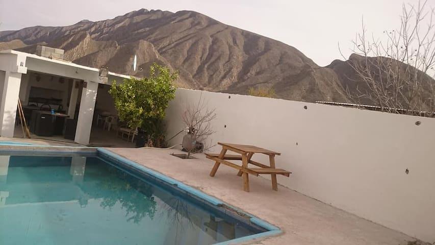 "Home ""Nice View"" in Cuatrocienegas"