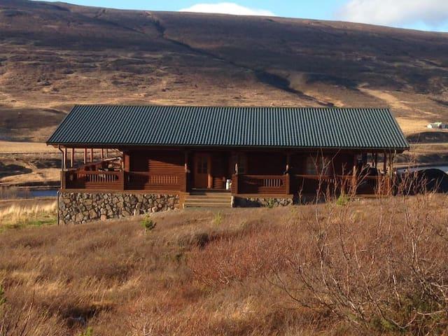 Örkin, house in Lundsskógur (40 km from Akureyri) - Akureyri - Casa