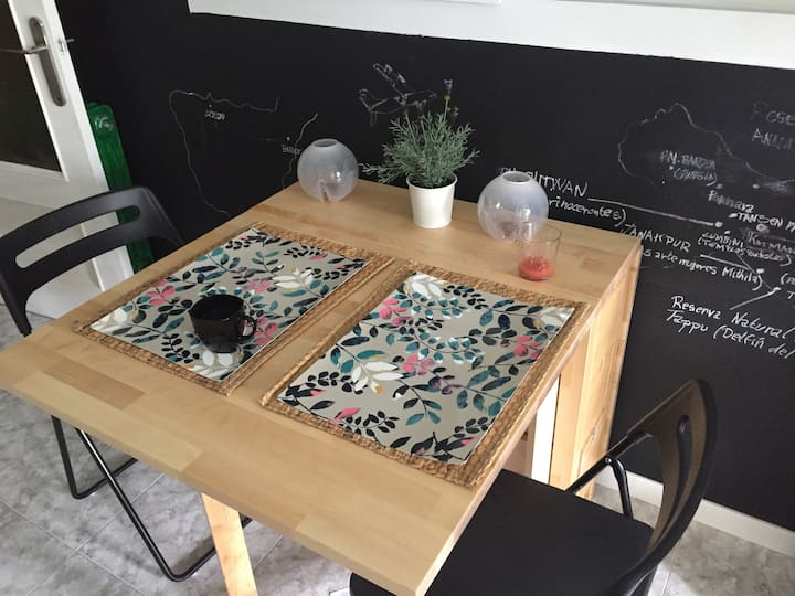 Habitación doble En piso creativo