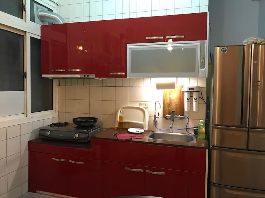 廚房可以讓您在旅途中補充必須的能量。