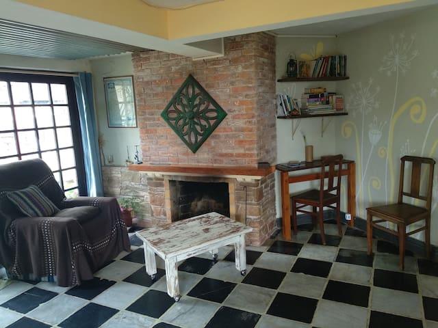 La Paloma, casita céntrica, tranquila y familiar.