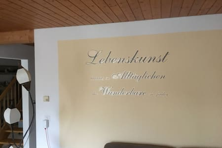 Lovely, wonderful and cosy Room in big Maisonette - Pfeffingen