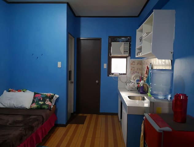 01 Fully-Furnished Studio/P.Wifi/Free Parking/4pax