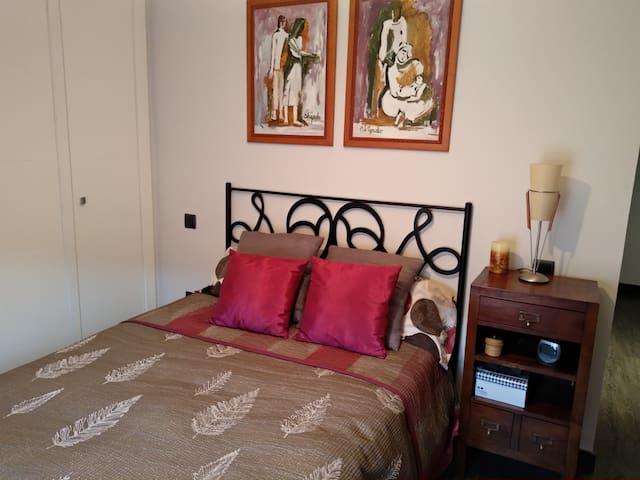 Habitación doble en Apartamento de Diseño