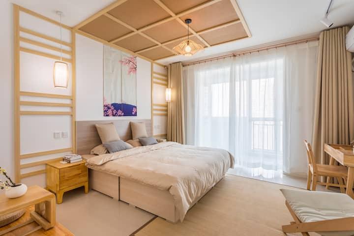 【日式·山水】一居室,紧邻北国先天下,保广万博