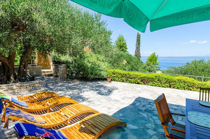 Vacation House Marija, Korčula-Two Bedroom Holiday Home with Terrace and Sea View