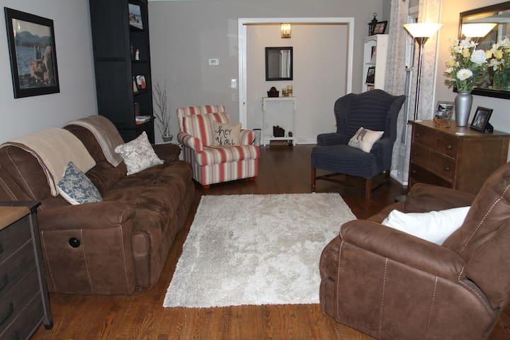 Full main level house rental