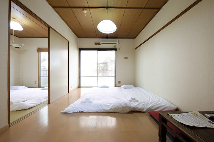 Warm & Comfy Apt!/Close to Yokohama/3min walk Sta! - Ōta-ku - Apartamento