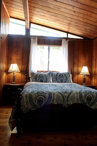The bedrooms are warm and inviting. You may never want to leave!