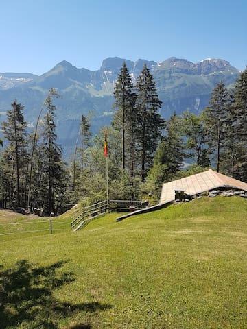 Zu Hause in den Bergen