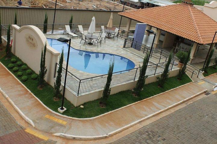 Apartamento Temporada - Olímpia-SP/ Apto 723