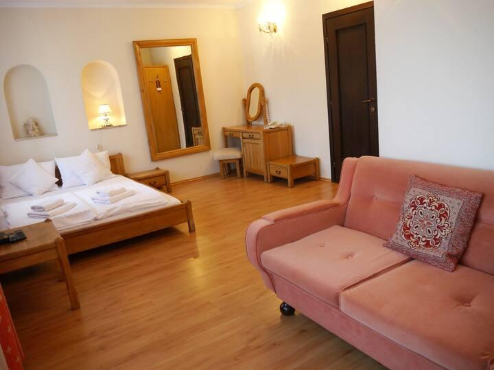 Przestronny pokój 2-3 osobowy z balkonem