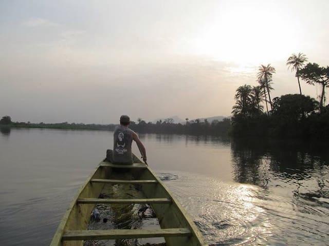 AtaKwame River Island Jungle Club - Akosombo - Eiland