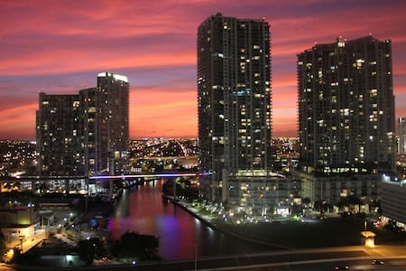 Beautiful BR in Luxury building in Brickell - Miami - Apartamento