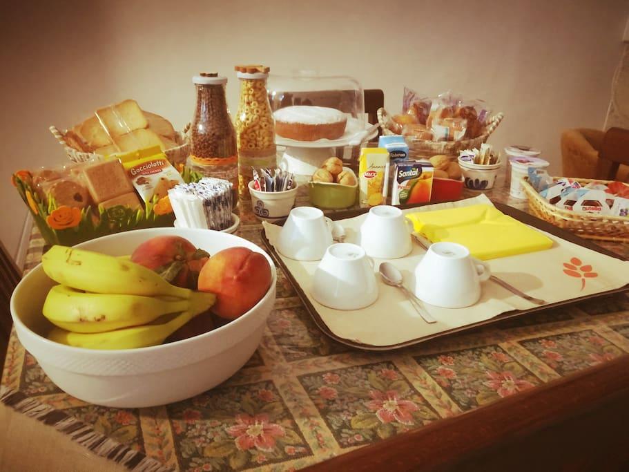 Le nostre colazioni...