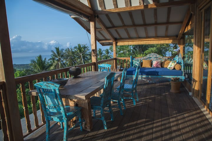Ocean View Balian Beach Apartment At Eco Resort